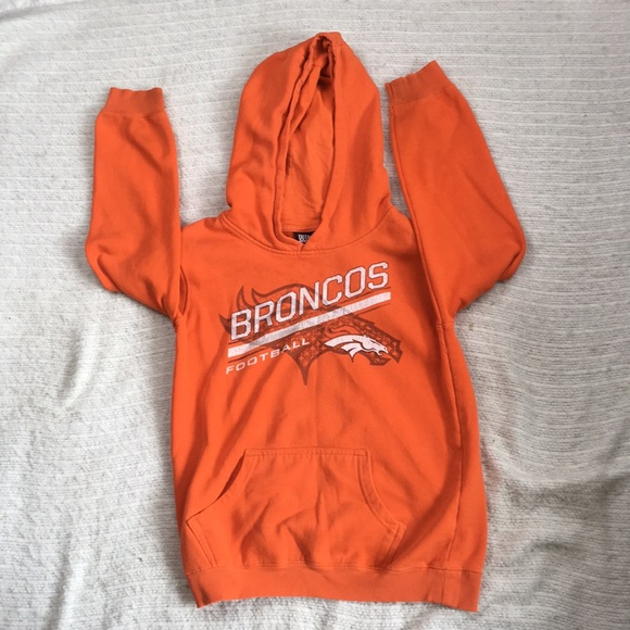 super popular be7d9 fb4a3 Denver Broncos Outer Stuff Youth Hoodie